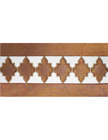 Arabian relief copper tiles MZ-004-91