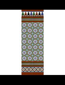 Arabischen farbigen mosaiken MZ-M013-00