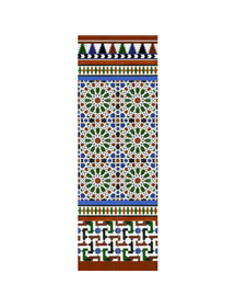 Arabian colour mosaic MZ-M039-00