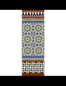 Arabischen farbigen mosaiken MZ-M039-00