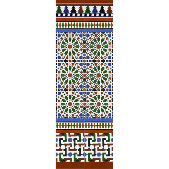 Arabian colour mosaic MZ-M039-00