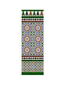Arabian colour mosaic MZ-M040-00