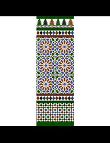 Arabian colour mosaic MZ-M040-00