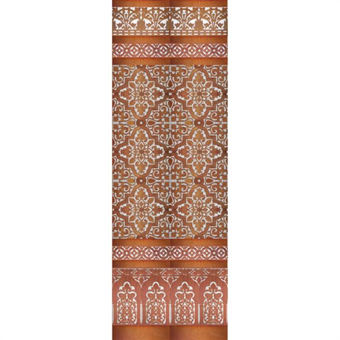 Sevillian copper mosaic MZ-M032-91