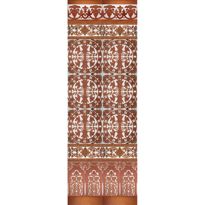 Mosaico Sevillano cobre MZ-M037-91