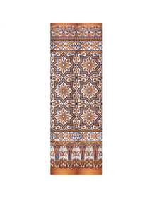 Sevillian copper mosaic MZ-M038-941