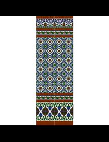 Sevillian reliev mosaic MZ-M031-00