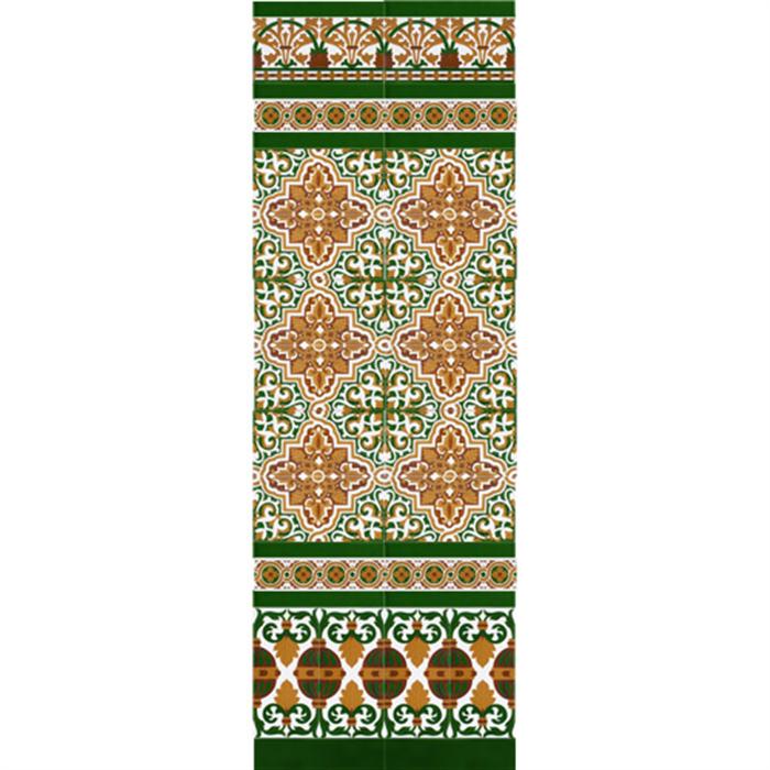 Mosaico Sevillano colores MZ-M032-01