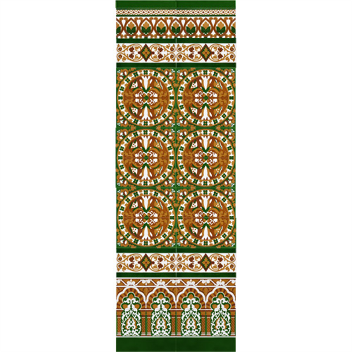Sevillian reliev mosaic MZ-M037-02