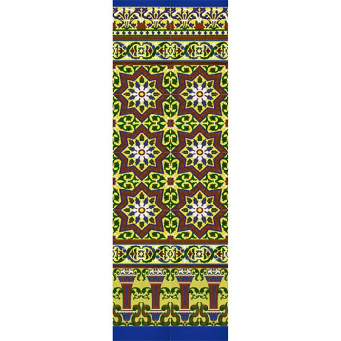 Mosaico sevillano colores mz m038 03 azulejos mensaque - Mosaicos de colores ...
