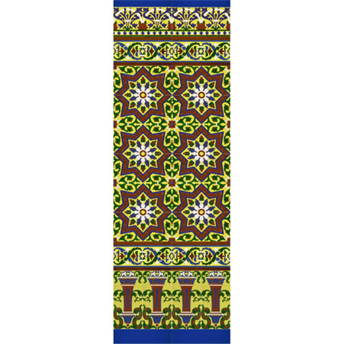 Sevillian reliev mosaic MZ-M038-03
