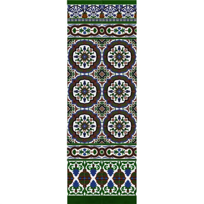 Sevillian reliev mosaic MZ-M050-00