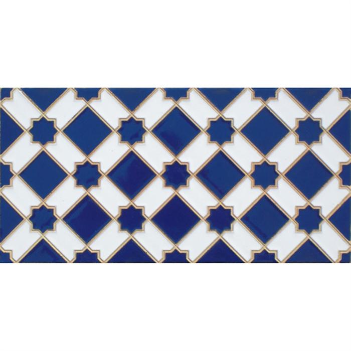 Azulejo Árabe relieve MZ-001-41