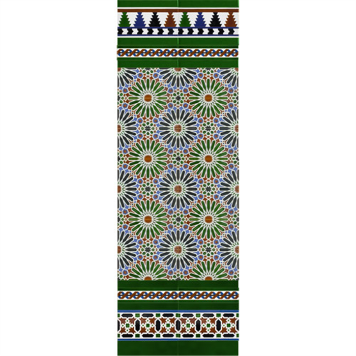 Arabian colour mosaic MZ-M012-00