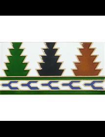Azulejo Árabe relieve MZ-005-00