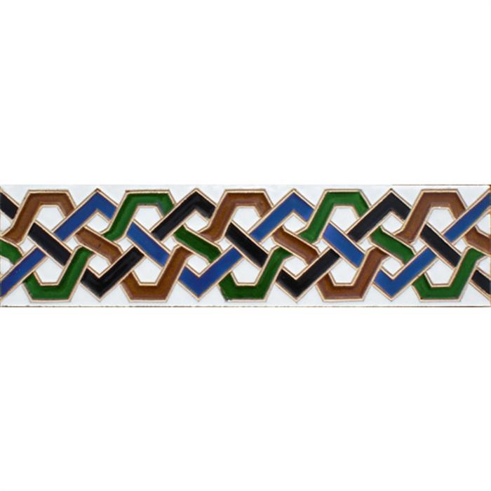 Azulejo Árabe relieve MZ-008-00