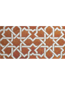 Arabian relief copper tiles MZ-006-91