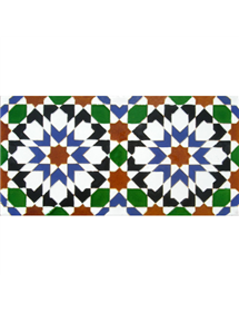 Azulejo Árabe relieve MZ-013-00