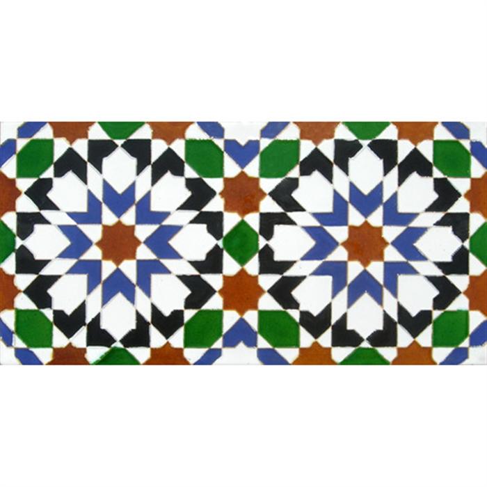 Azulejo Árabe relieve MZ-013-00