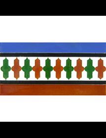 Arabischen geprägte fliesen MZ-018-00