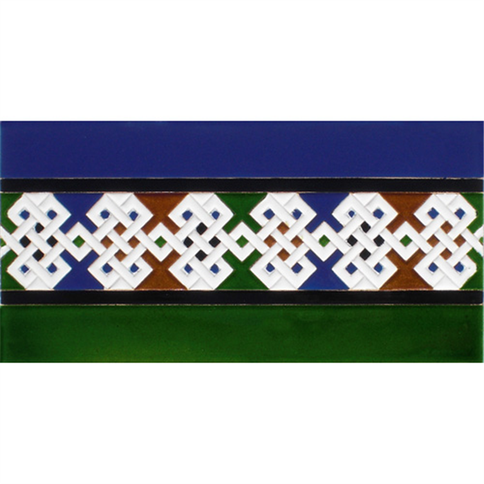 Azulejo Árabe relieve MZ-025-00