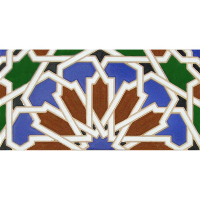 Azulejo Árabe relieve MZ-040-00