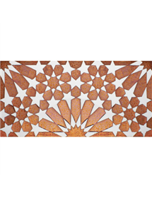 Arabian relief copper tiles MZ-011-91