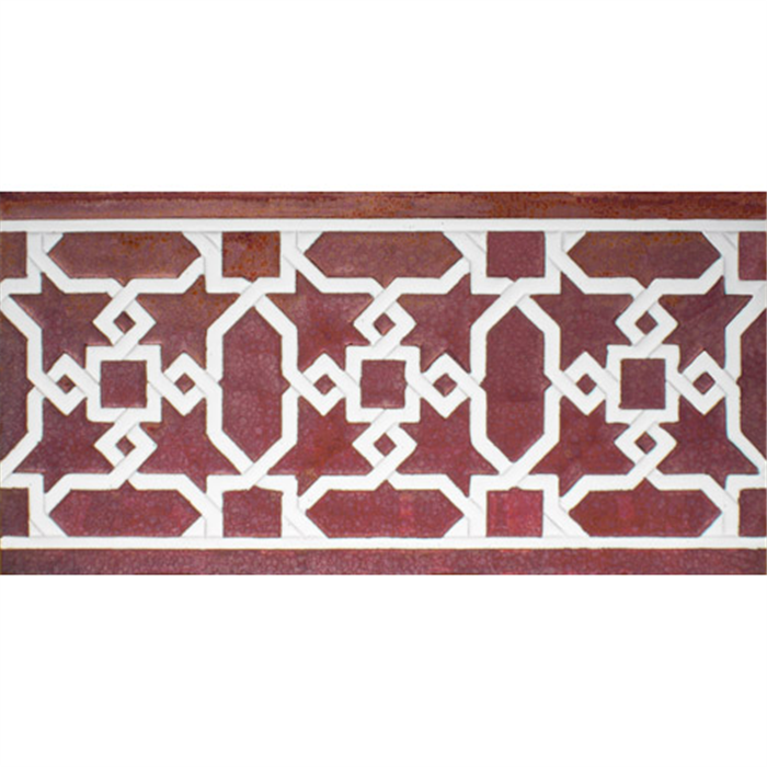 Arabian relief copper tiles MZ-015-91