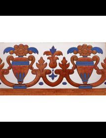 Azulejo Sevillano cobre MZ-027-941