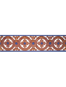 Azulejo Sevillano cobre MZ-029-941