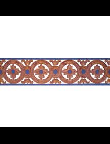 Sevillian relief copper tile MZ-029-941