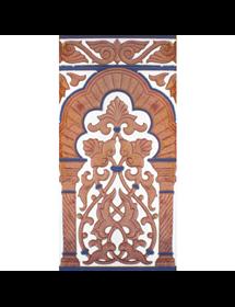 Azulejo Sevillano cobre MZ-030-941