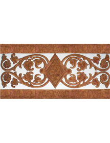 Sevillian relief copper tile MZ-034-91