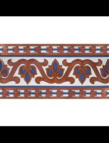 Sevillian relief copper tile MZ-036-941