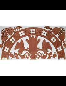 Sevillian relief copper tile MZ-037-91