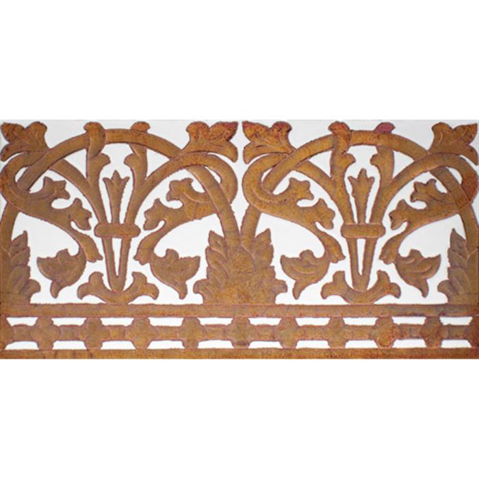 Sevillian relief copper tile MZ-042-91